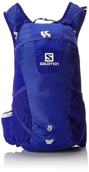 Salomon Trail 20 Blue/White Mochilas y Bolsillos, Spectrum Azul/Blanco, Uni: Amazon.es: Deportes y aire libre