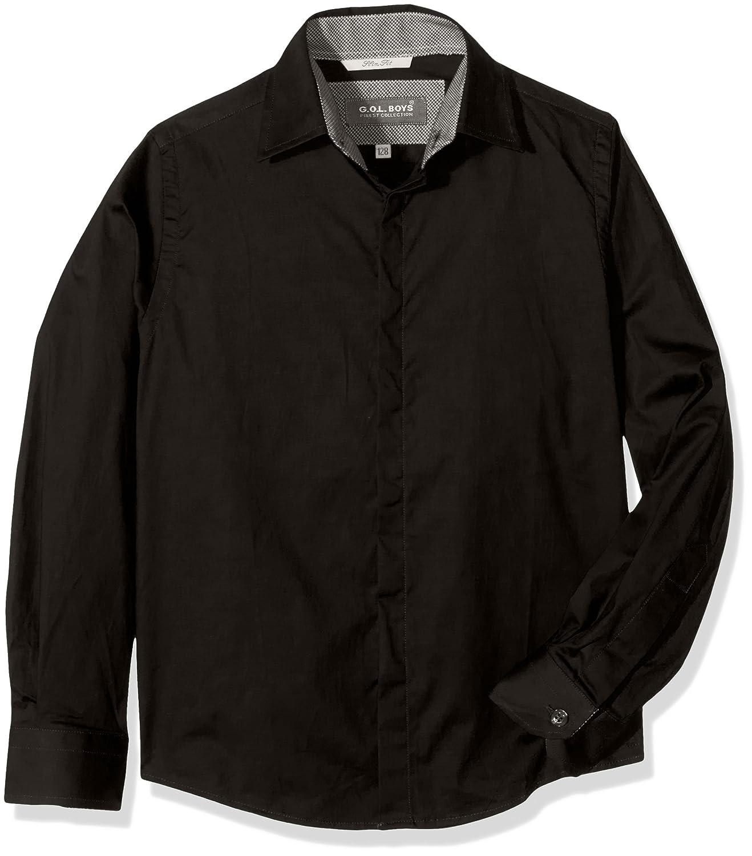 G.O.L. Boy's Hemd Mit Eton-Kragen Shirt 5547000