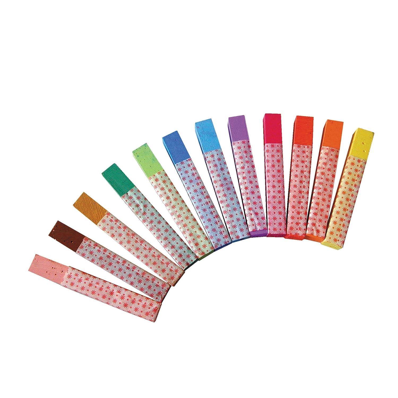 gessetti per lavagna Herlitz 12/pezzi in confezione appendibile colori assortiti 12 pezzi a colori