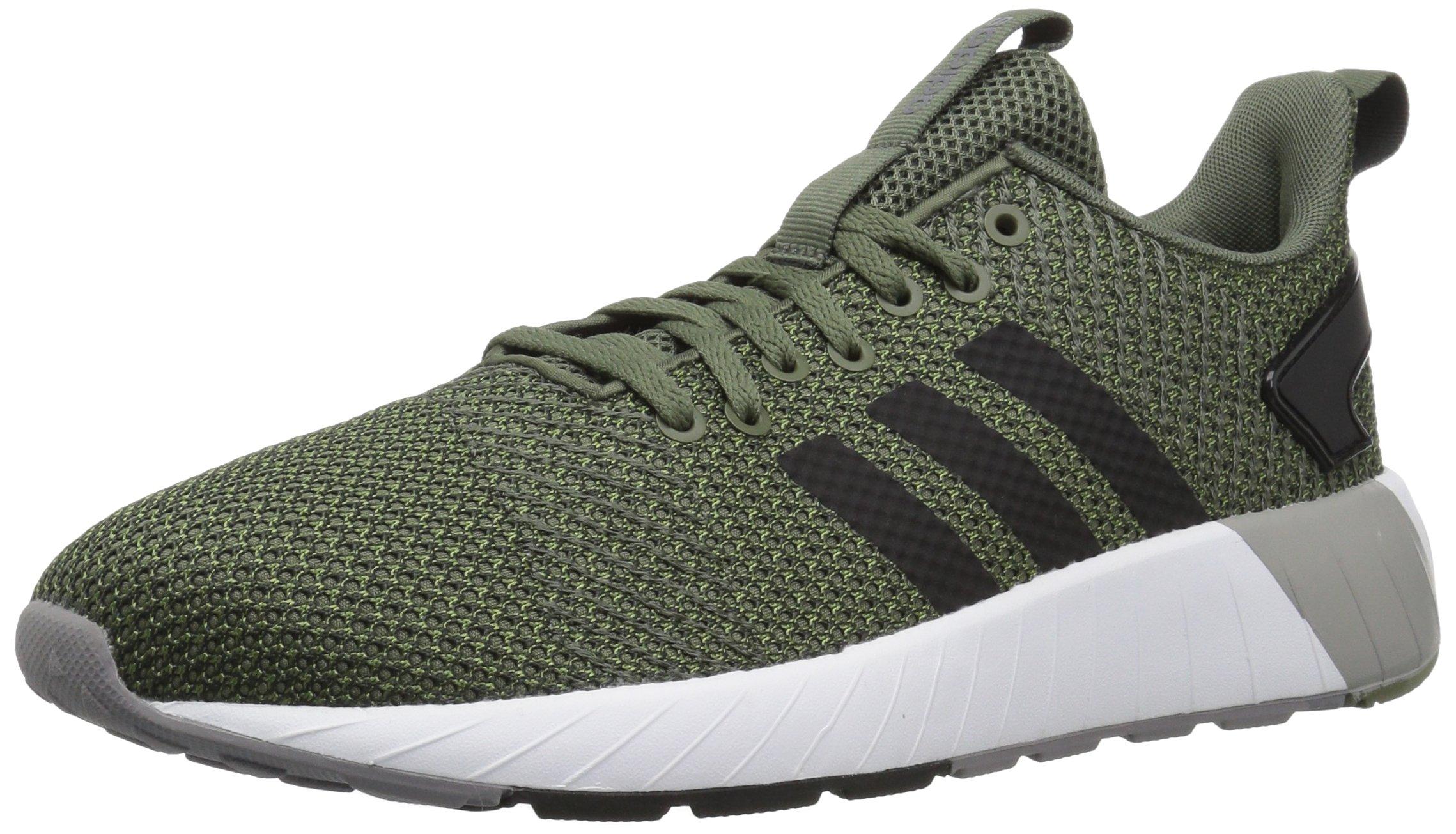 adidas Men's Questar BYD Running Shoe, Base Green/Black/Grey, 6.5 M US