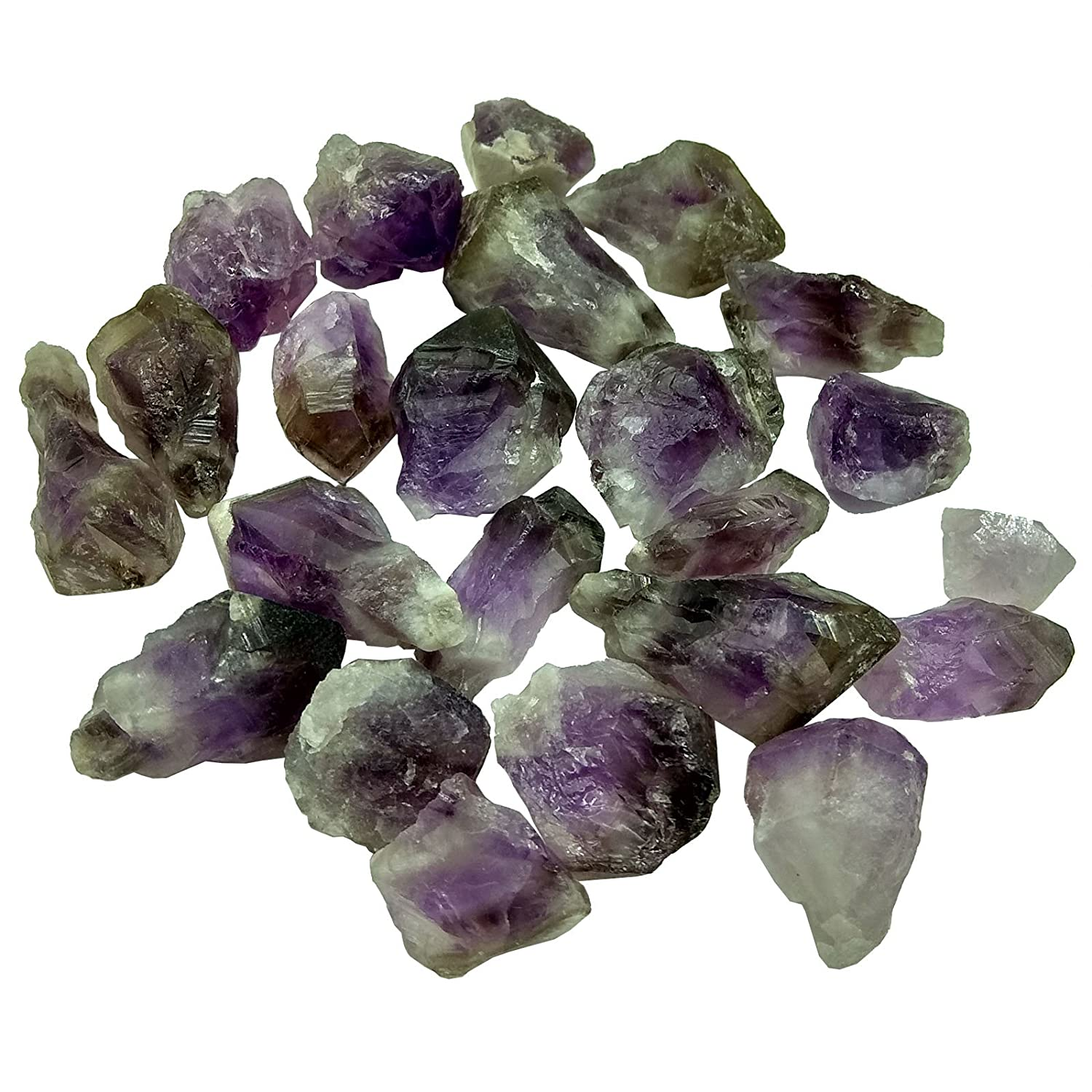 and Polishing /& Reiki Crystal Healing Tumbling Lapidary MOSOAO 4.5oz Natural Rough Purple Amethyst Quartz Crystals Each Size 0.5 to 2.5 Inch Raw Natural Stones for Cabbing Cutting