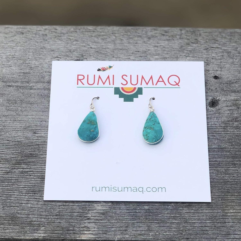 Hot Sell Chrysocolla Gemstone Earrings,Summer Earring Polished Smooth Earring set,34x14x5mm,8.7g-Y35