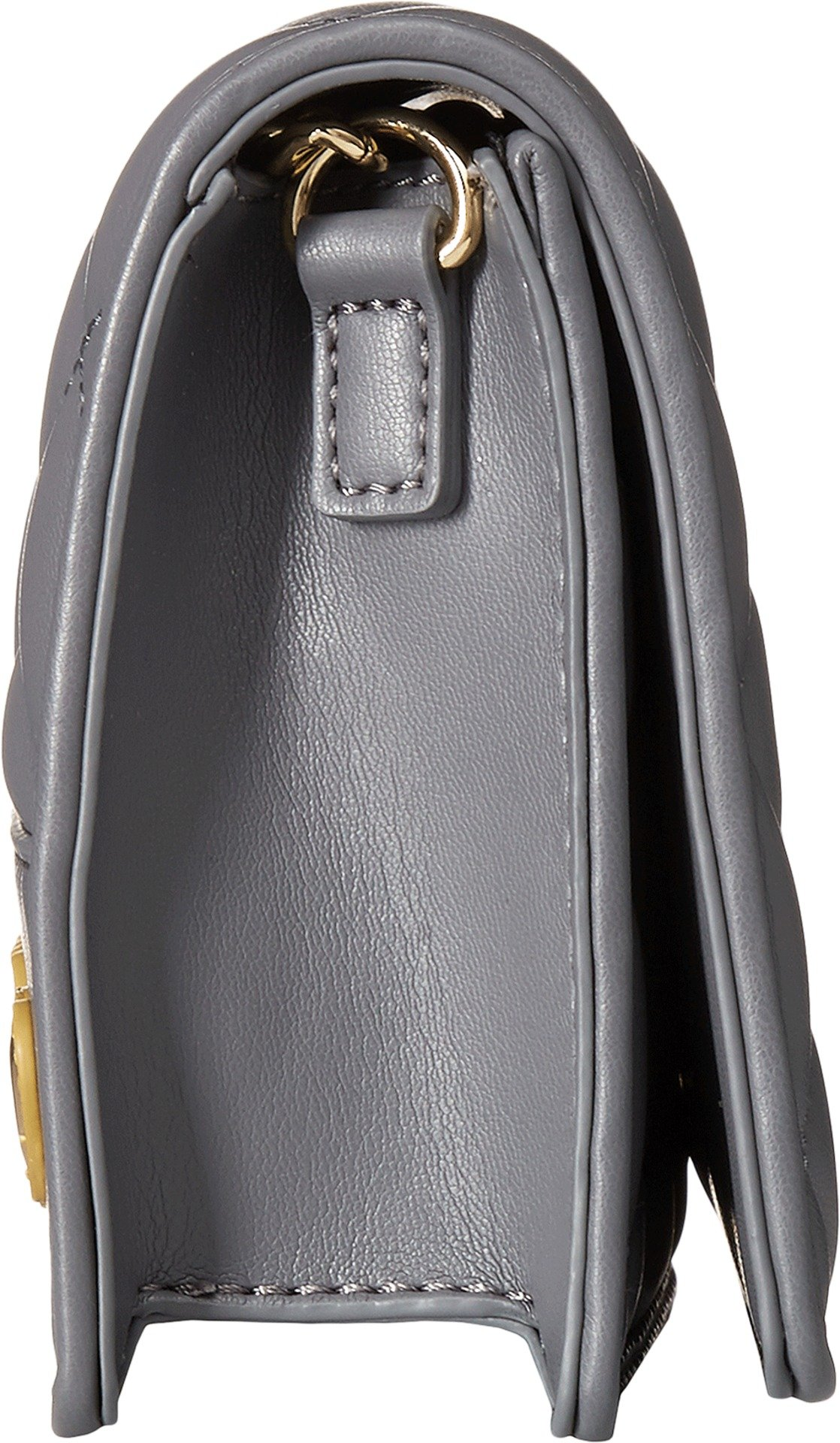 LOVE Moschino Women's Super Quilted Clutch Dark Grey One Size by Love Moschino (Image #3)