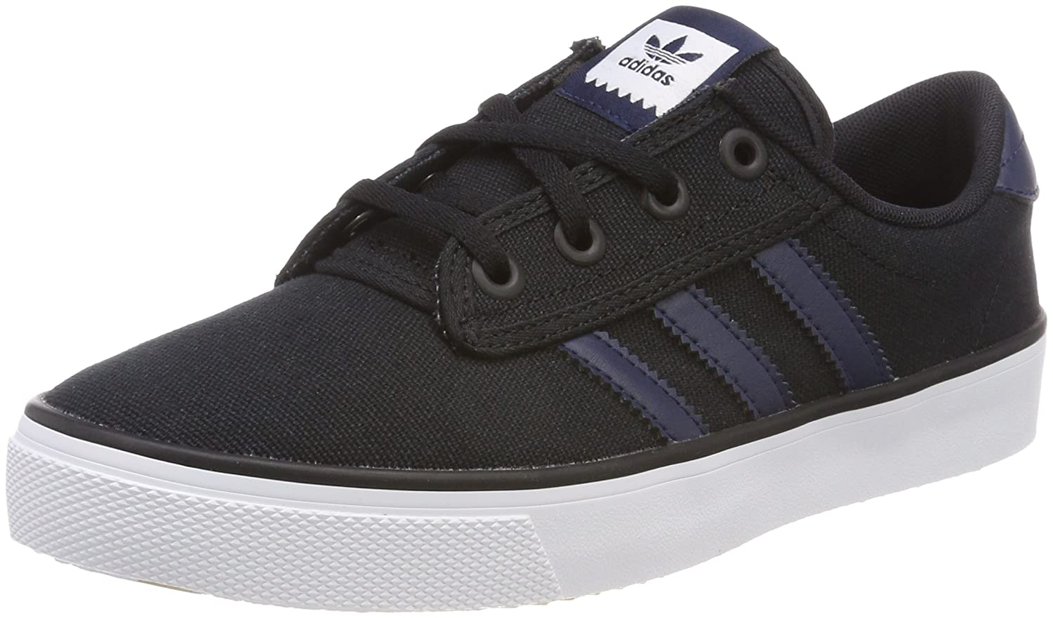 Adidas Kiel, Zapatillas Unisex Adulto 42 2/3 EU|Negro (Core Black/Collegiate Navy/Footwear White 0)