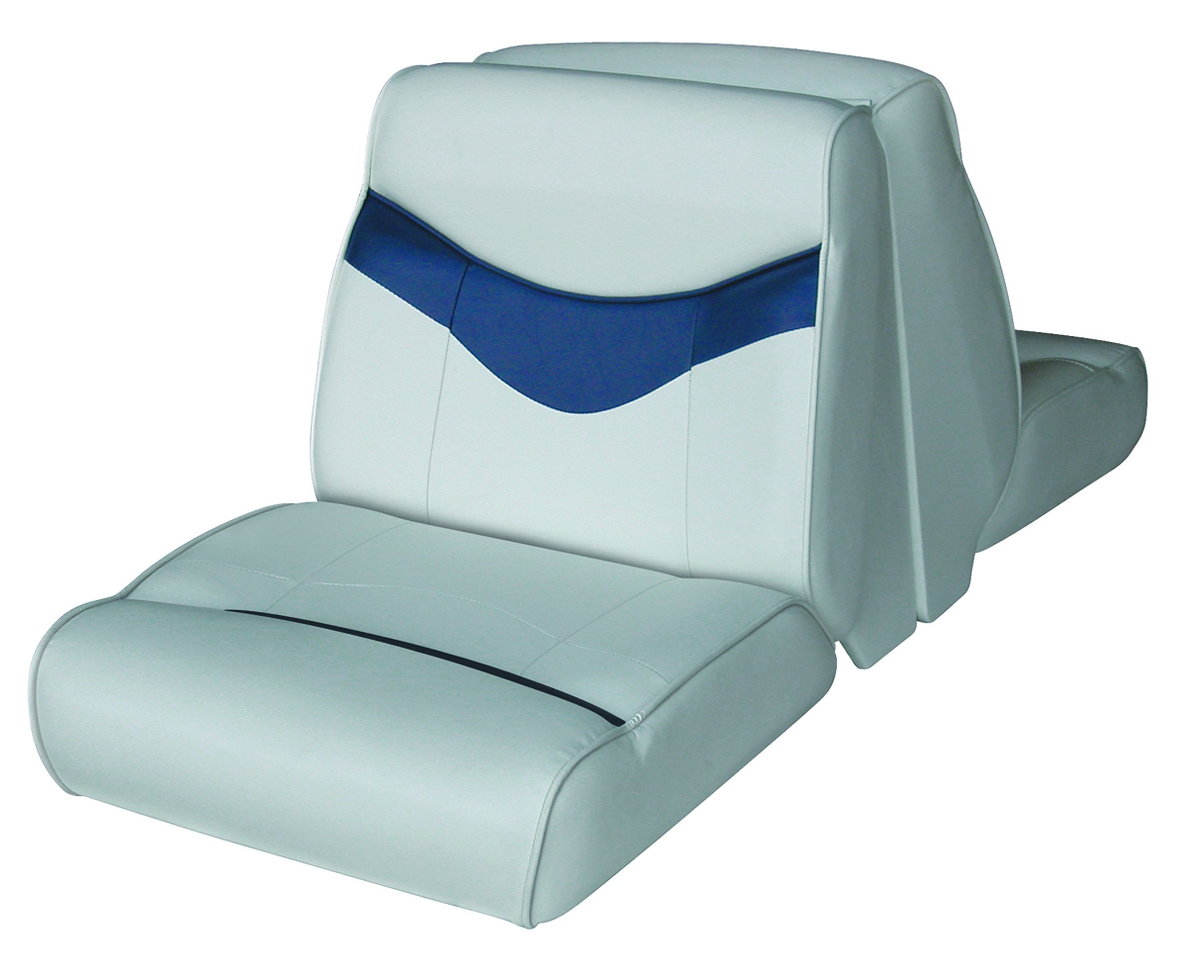 Wise Bayliner Capri and Classic Lounge Seat (Grey/Navy) by Wise
