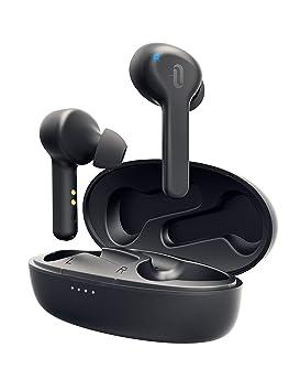 TaoTronics - Auriculares inalámbricos con Bluetooth 5.0 TWS, 40 Horas de autonomía, con Carcasa de Carga y micrófono Integrado, Control táctil IPX7, ...