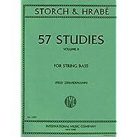 STORCH y HRABE - Estudios (57) Vol.2 para Contrabajo (Zimmermann)