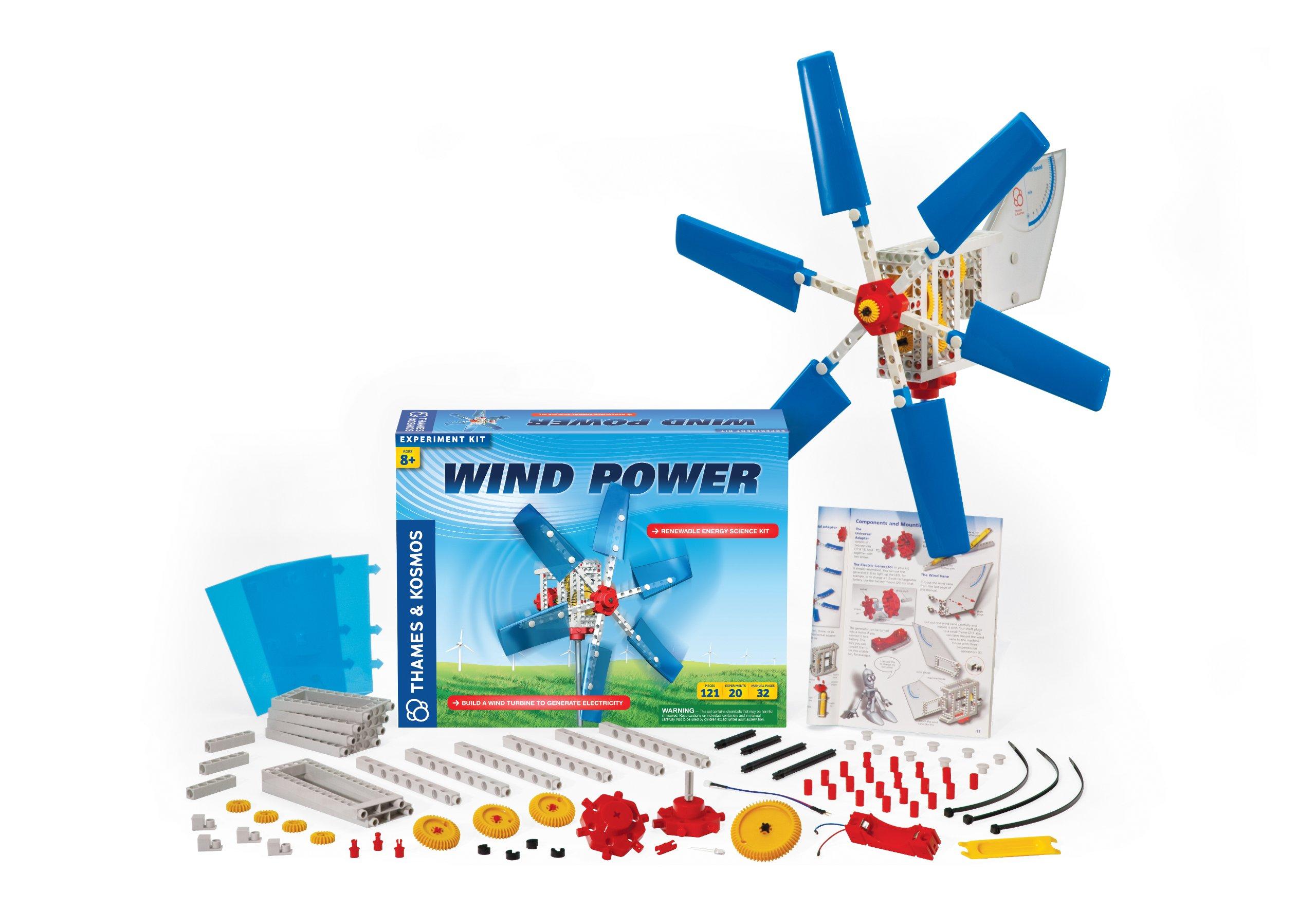 Thames & Kosmos Alternative Energy and Environmental Science Wind Power