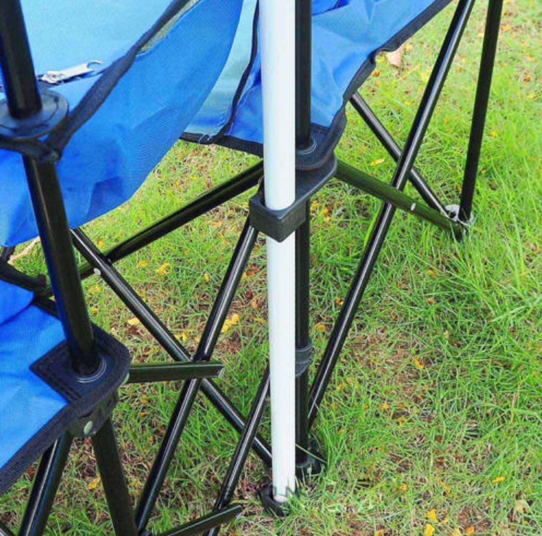 Amazon.com: Silla portátil de picnic plegable (doble Recline ...