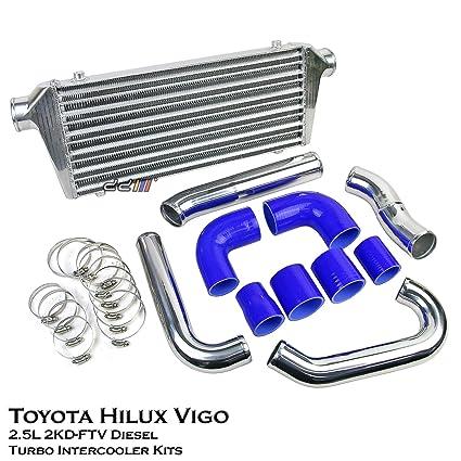 Amazon.com: Turbo Intercooler Kit Fits Toyota Hilux Vigo KUN15 KUN25 05-11 2.5L 2KD Diesel: Automotive