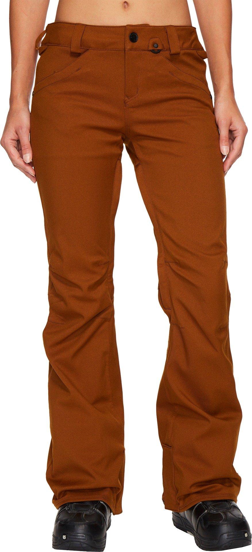 Volcom Snow Women's Species Stretch Pants Copper Small by Volcom