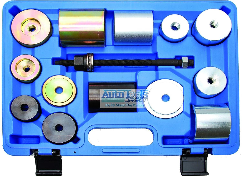 Coffret d'outils de montage et d'extracteur de silentblocs et de joints à rotule pour BMW Mekanik