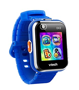 VTech Kidizoom DX2 - Electrónica para niños (Kids smartwatch, Blue, Splash proof, Buttons, 5 yr(s), Boy/Girl) [version aleman]