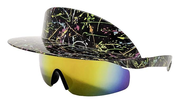 Amazon.com: Gafas de sol polarizadas con visera y diseño ...