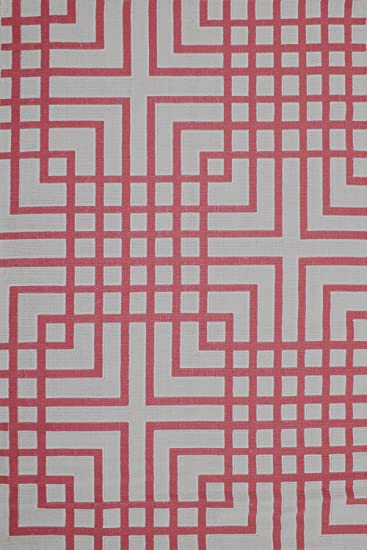 Cotton Rug Machine Washable Area Rugs 4x6 And 6x9 Sizes Modern Design  Squares (6u0027