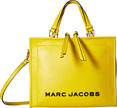 4163966098bb Amazon.com: Marc Jacobs Women's The Box Shopper 29 Ceylon Yellow One Size:  Shoes