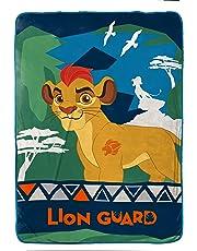 Lion Guard Disney One Manta de Felpa Individual de 62 x 90 Pulgadas