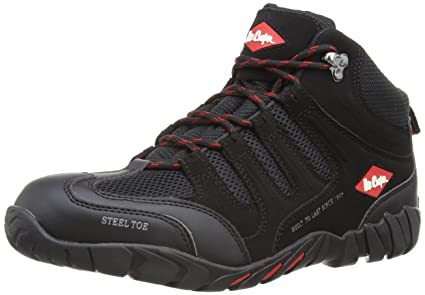 20cd9f33 Lee Cooper Workwear Unisex-Adult S1P Boot Safety Shoes LCSHOE020 ...