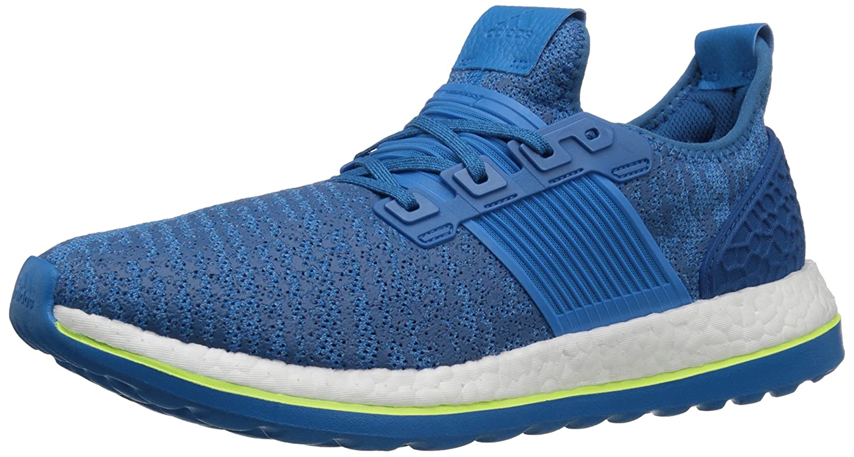 adidas Performance Men's Pureboost ZG Running Shoe B0119FE5CI 8.5 D(M) US|Equipment Blue/Shock Blue/Solar Yellow