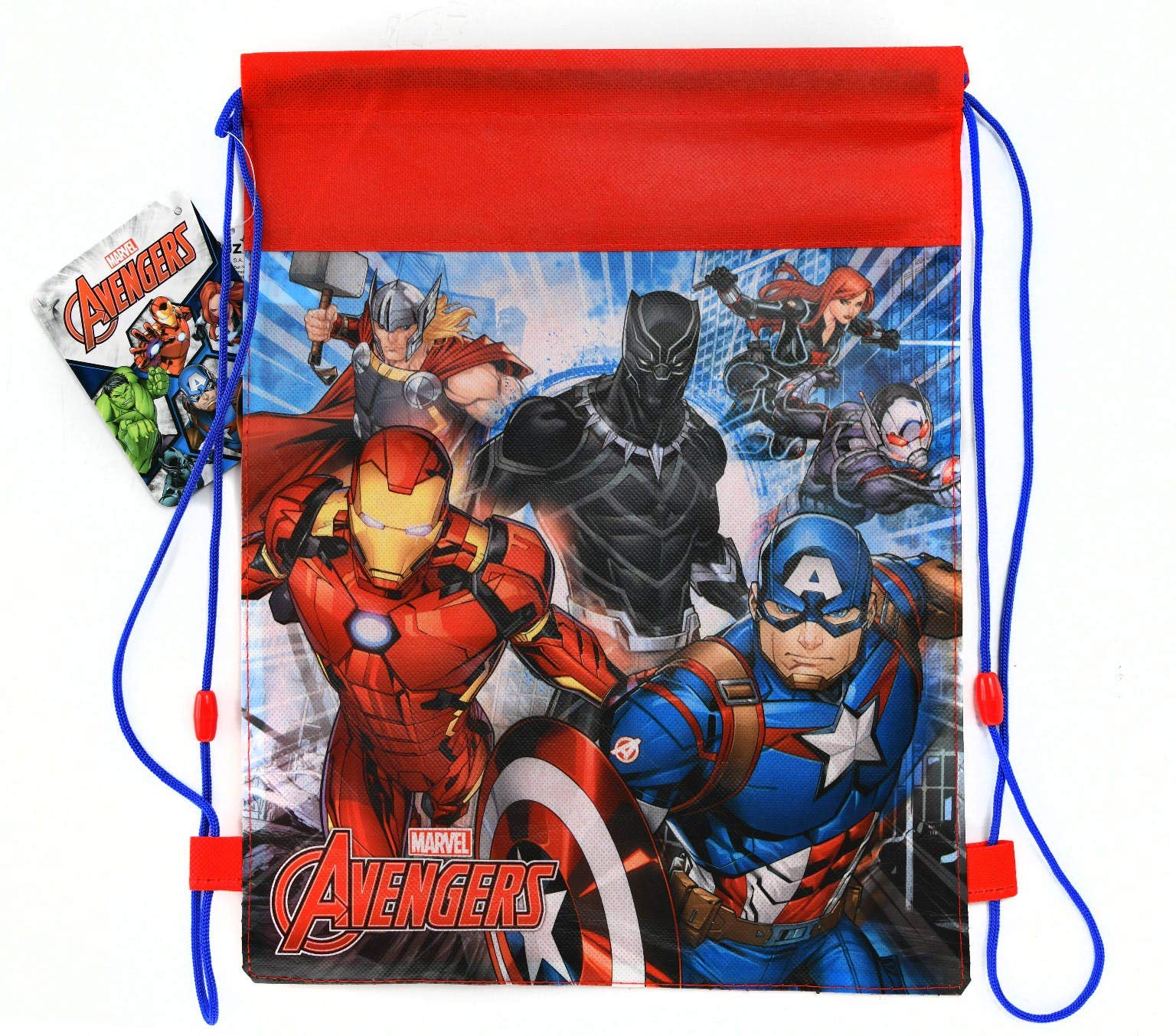 Avengers Non Woven Sling Bag with Hangtag - 24-Pack by Marvel (Image #1)