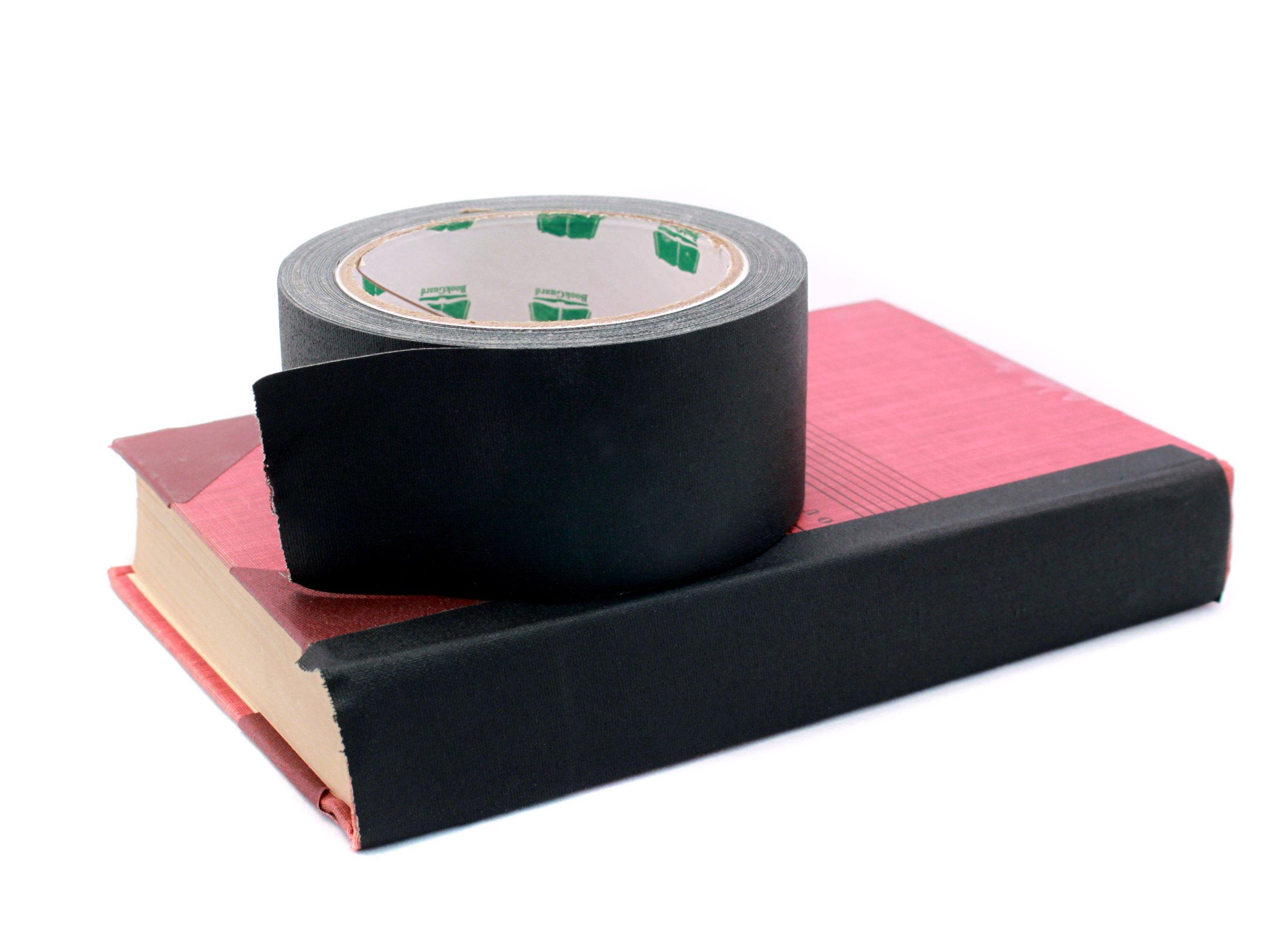 2'' Brown Colored Premium-Cloth Book Binding Repair Tape | 15 Yard Roll (BookGuard Brand) by Chromalabel.com (Image #2)