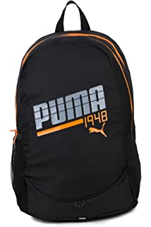 Puma Hiking Backpack (Black Orange)  Amazon.in  Bags, Wallets   Luggage 3b613cb9ac