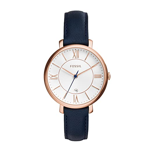Fossil Womens Quartz Watch with Leather Strap ES3843  Fossil  Amazon.co.uk   Watches 2a132bc89f