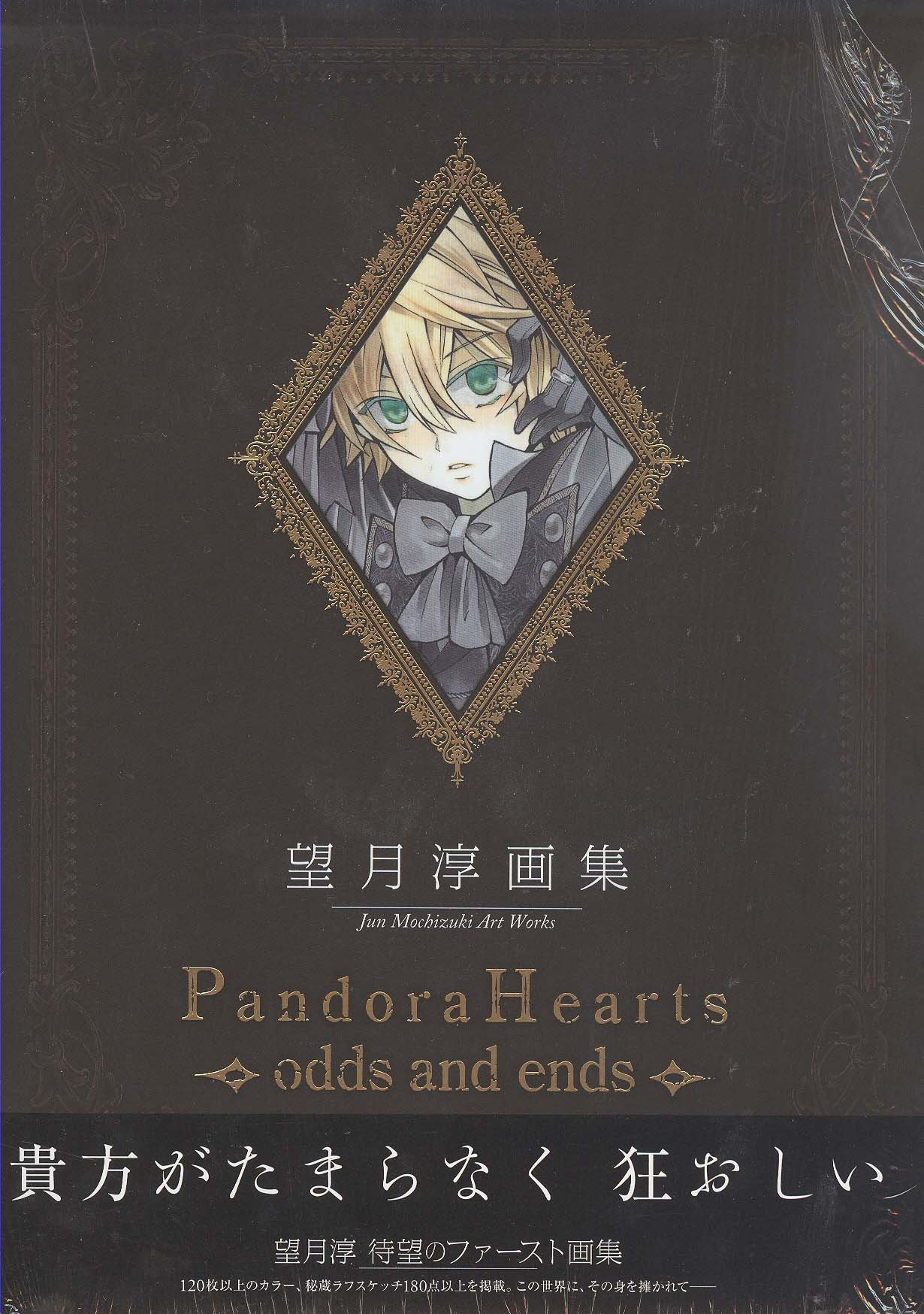 Read Online Pandora Hearts Art Book Odds And Ends Jun Mochizuki Art Works (In Japanese) ebook