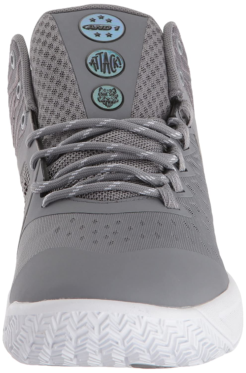 AND 1 Mens Attack Mid Basketball Shoe