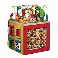 Battat – Wooden Activity Cube – Discover Farm Animals Activity Center for Kids 1...