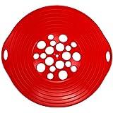 culinario Überkochschutz Universaldeckel zum Schutz vor dem Überkochen optimal für Töpfe von Ø 16 - 28 cm