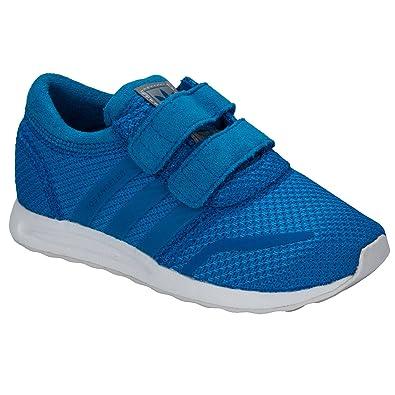 e80ce3d1e842c8 Adidas Originals Kids Infants Los Angeles CF Velcro Fasten Trainers Shoes -  5.5K