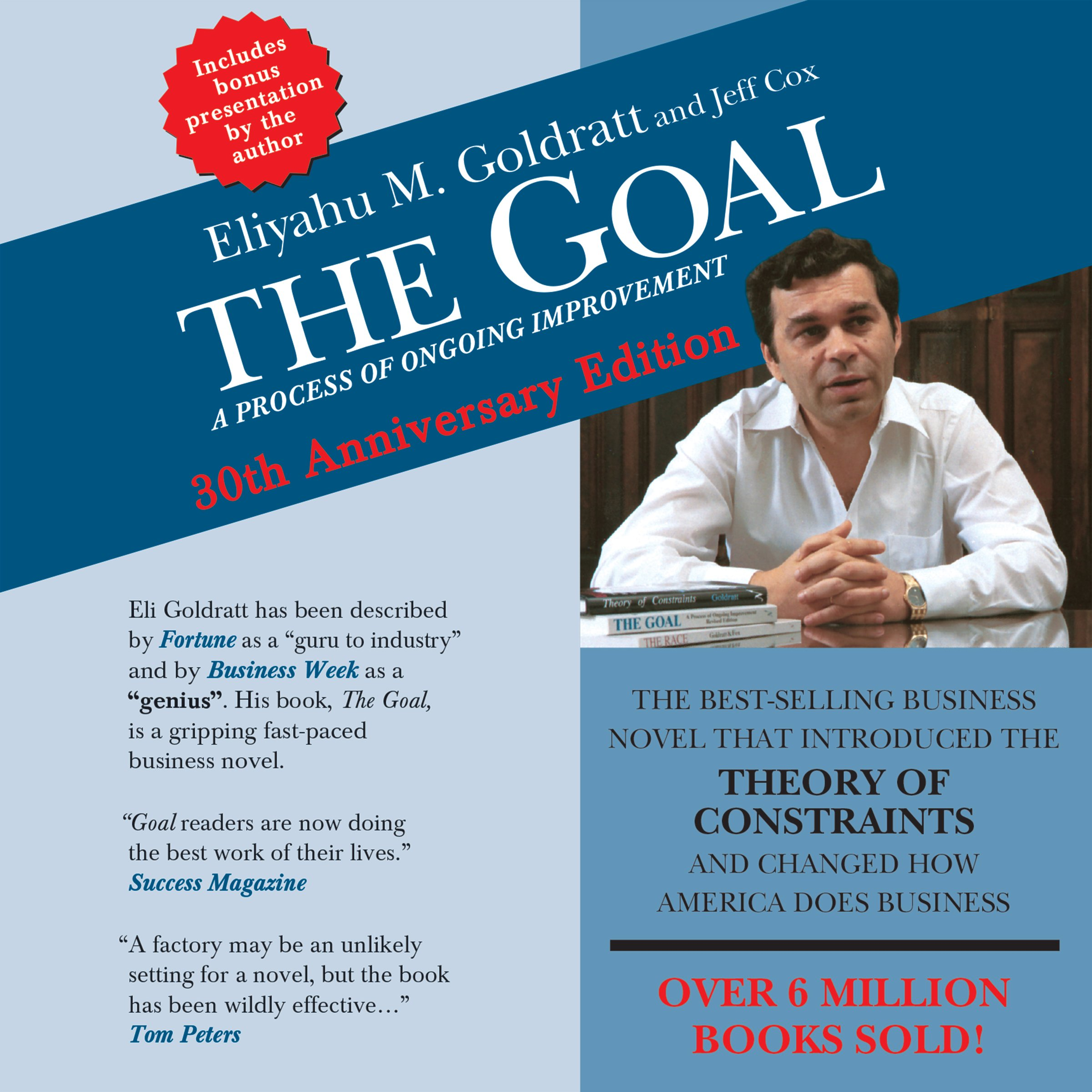 The Goal: A Process of Ongoing Improvement – 30th Anniversary Edition
