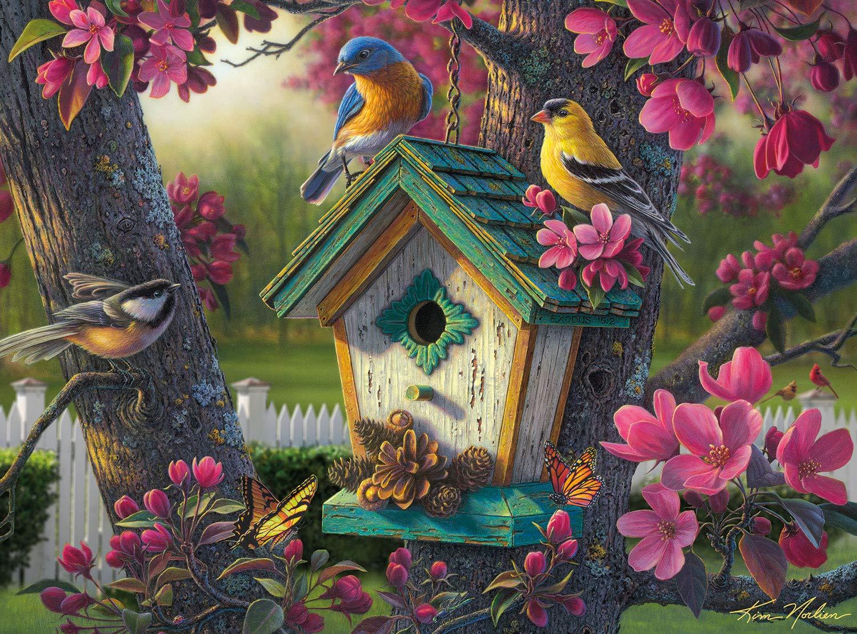 Kim Norlien - Springtime Beauty - 1000 Piece Jigsaw Puzzle