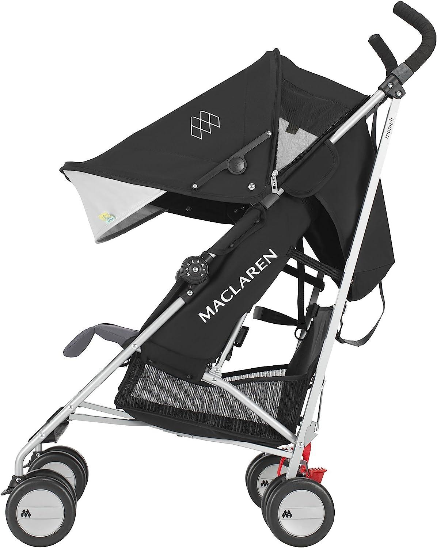 color negro//Charcoal Maclaren Triumph Silla de paseo
