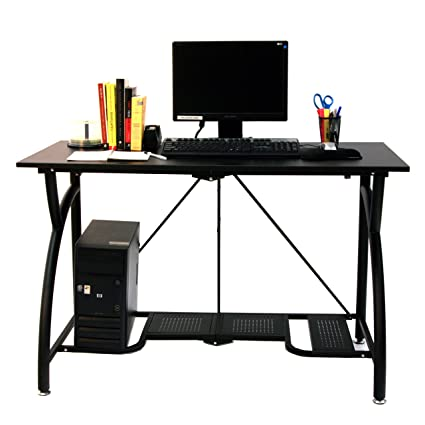 Marvelous Origami Foldable Computer Desk, Black
