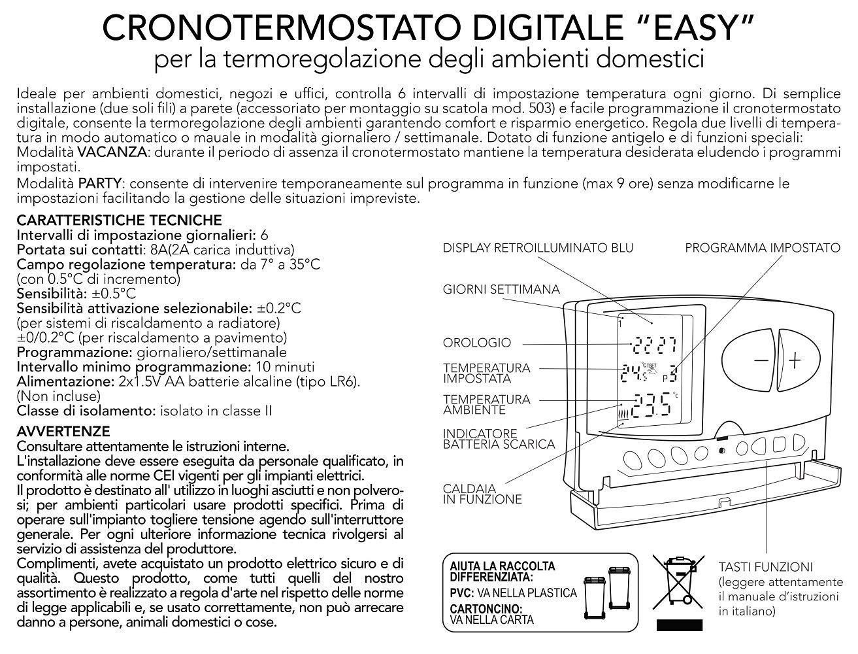 Poly Pool PP1465 Blanco termoestato - Termostato (Blanco, II, 7-35 °C, °C, LCD, Batería): Amazon.es: Hogar