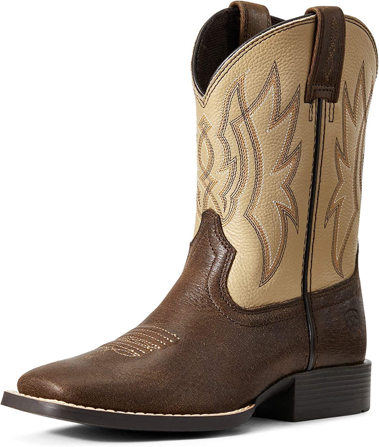 ARIAT Boys' Pace Setter Western Boot Wide Square Toe