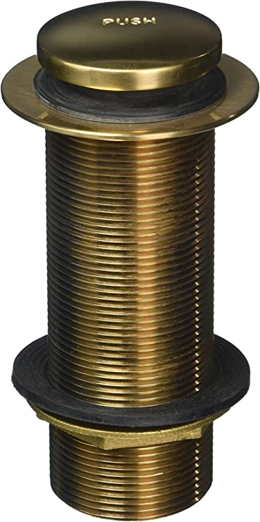 Oil Rubbed Bronze Standard Plumbing Supply Jaclo 529-125-ORB Toe Control Drain Strainer