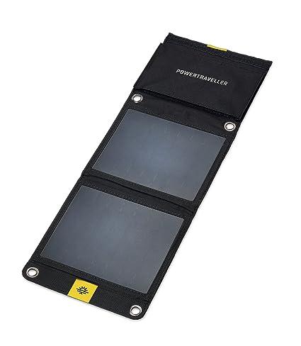 Amazon.com: Powertraveller Falcon 7: Cargador solar portátil ...