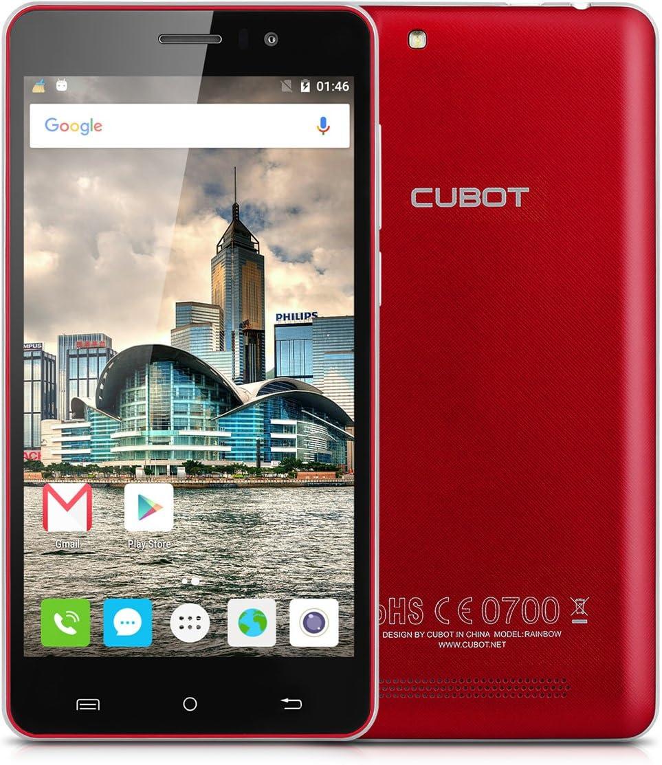 Cubot Rainbow - Smartphone Móvil Libre 16Gb Android 6.0 (Pantalla 5.0\