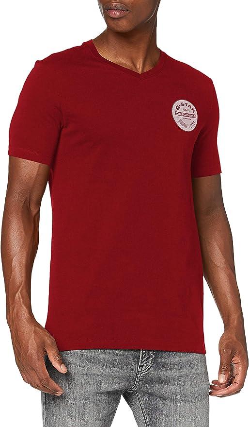 TALLA S. G-STAR RAW Originals Logo Slim Camiseta para Hombre
