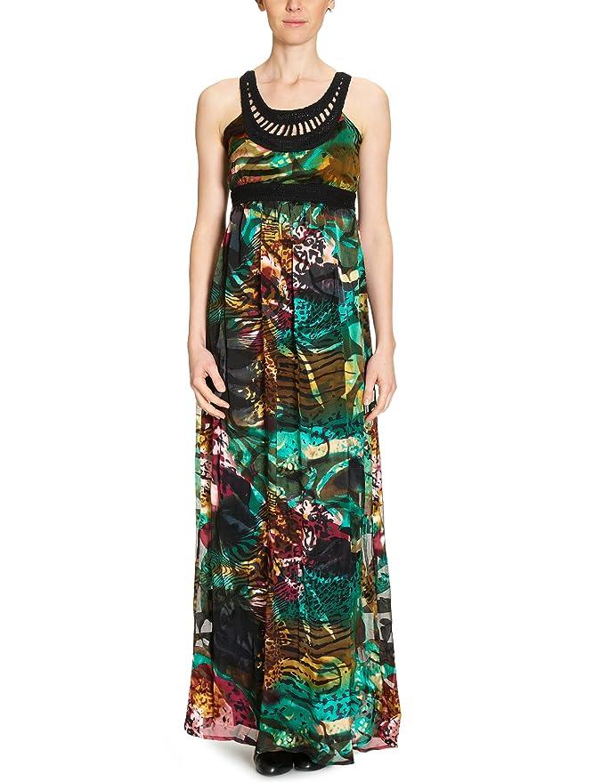 it Desigual Amazon Donna 21 V2194 lungo Vestito Abbigliamento Da wnfq0wza