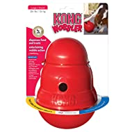 KONG - Wobbler - Interactive Treat Dispensing Dog Toy, Dishwasher Safe