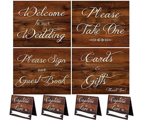 Amazon Wedding Signs