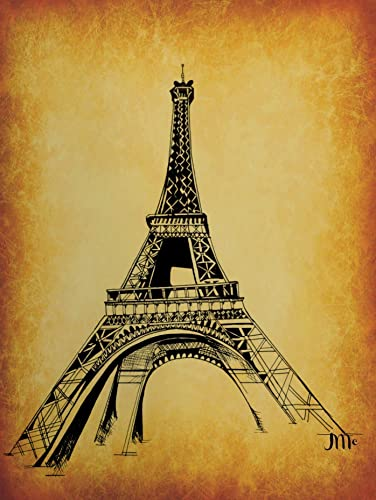 Amazon Eiffel Tower Print Paris France The Eiffel Tower