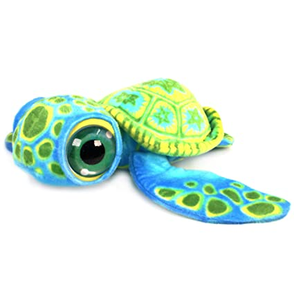 Amazon Com Viahart Terrence The Turtle 18 Inch Baby Big Eye