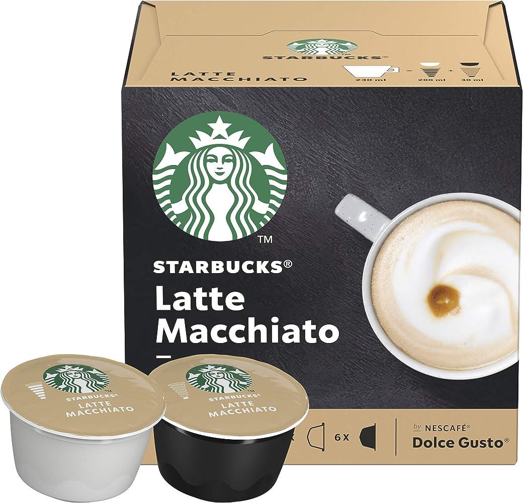 STARBUCKS Latte Macchiato De Nescafe Dolce Gusto Cápsulas De Café