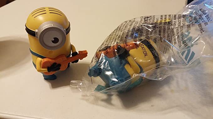 Amazon.com: Mcdonalds Talking Stuart Toy, #3 Minion Toy 2015 NIP ...