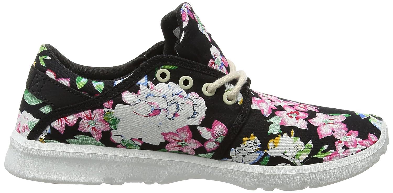 Etnies Damen Scout W's Skateboardschuhe schwarz (schwarz/Floral (schwarz/Floral schwarz 993) 1af990